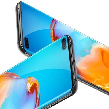 Защитное 3D стекло для Huawei P40 Pro - 0,3 мм., серия Anti Blue Xpro 3D, фото №6