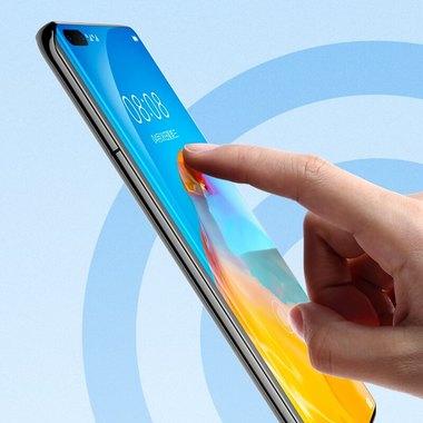 Защитное 3D стекло для Huawei P40 Pro - 0,3 мм., серия Anti Blue Xpro 3D, фото №7