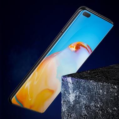 Защитное 3D стекло для Huawei P40 Pro - 0,3 мм., серия Anti Blue Xpro 3D, фото №1