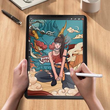 Paper Like магнитная защитная пленка для iPad Pro 12.9 (2018/2020/2021), фото №8