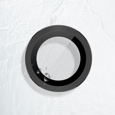 Защитное стекло на камеру iPhone 11 Pro/11 Pro Max, мет. рамка KR (Gray) - 1 шт., фото №5