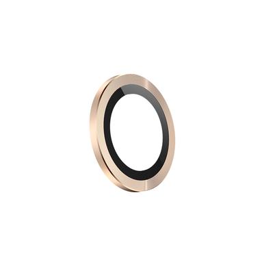 Защитное стекло на камеру iPhone 11 Pro/11 Pro Max, мет. рамка KR (Gold) - 1 шт., фото №10