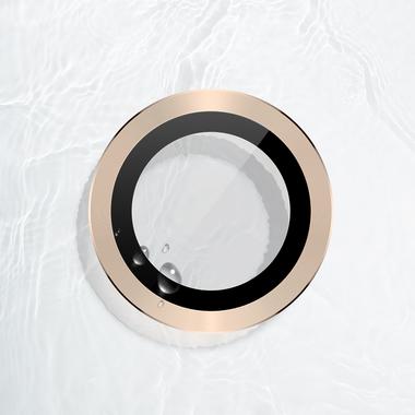 Защитное стекло на камеру iPhone 11 Pro/11 Pro Max, мет. рамка KR (Gold) - 1 шт., фото №11