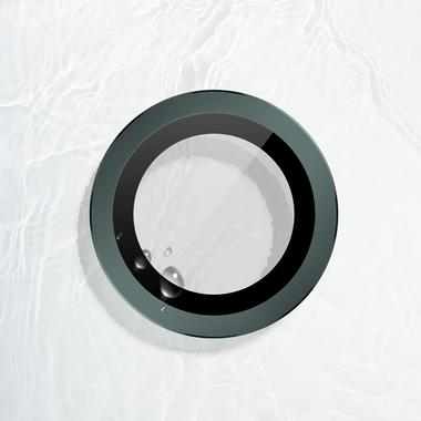 Защитное стекло на камеру iPhone 11 Pro/11 Pro Max, мет. рамка KR (Green) - 1 шт., фото №5