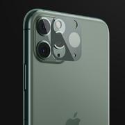 Защитное стекло на камеру iPhone 11 Pro/11 Pro Max, KR (Green) - 2 шт.