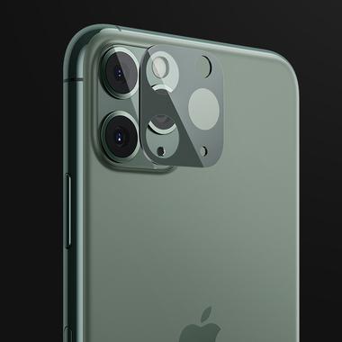 Защитное стекло на камеру iPhone 11 Pro/11 Pro Max, KR (Green) - 2 шт., фото №1
