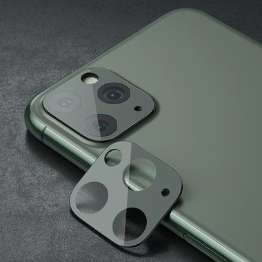 Защитное стекло на камеру iPhone 11 Pro/11 Pro Max, KR (Green) - 2 шт., фото №19