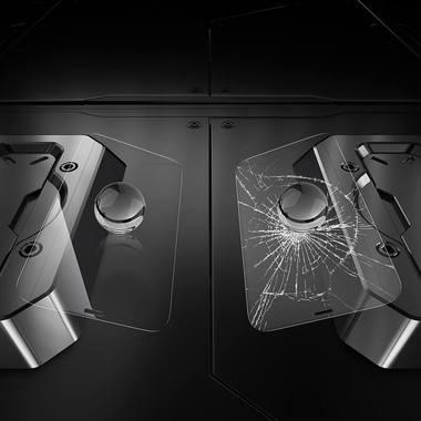 """Защитное стекло для iPhone 12 mini (5,4"""") - CKR+ Corning серия 0,4 мм., фото №7"""