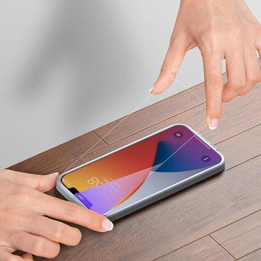 Защитное стекло на iPhone 12 Pro Max Anti Blue Light 0.15 мм 2.5D, фото №1