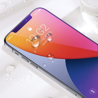 Защитное стекло на iPhone 12 Pro Max Anti Blue Light 0.15 мм 2.5D, фото №3