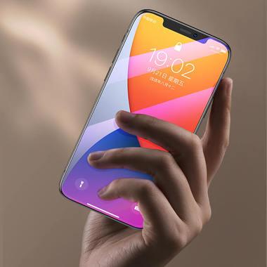 Защитное стекло на iPhone 12 Pro Max Anti Blue Light 0.15 мм 2.5D, фото №5