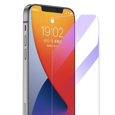 Защитное стекло на iPhone 12 Pro Max Anti Blue Light 0.15 мм 2.5D, фото №7