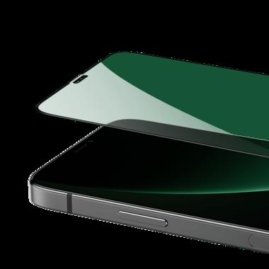 Защитное стекло iPhone 12 Pro Max 3D Vpro (green light) 0,3 мм черная рамка, фото №11