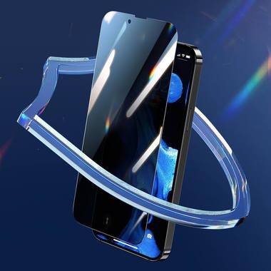Benks King Kong Corning Anti-Spy защитное стекло для iPhone 13 mini - 0,4 мм 3D с антимикробным эффектом, фото №8