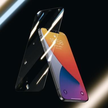 "Защитное стекло для iPhone 12/12Pro (6,1"") - CKR+ Corning серия 0,4 мм., фото №1"