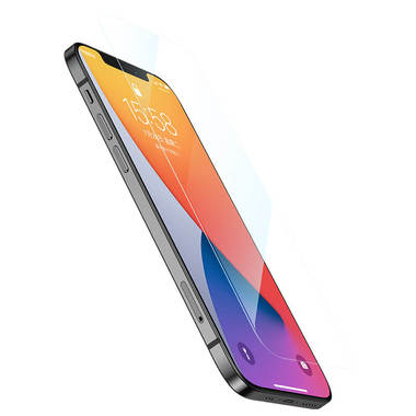 "Защитное стекло для iPhone 12/12Pro (6,1"") - CKR+ Corning серия 0,4 мм., фото №9"