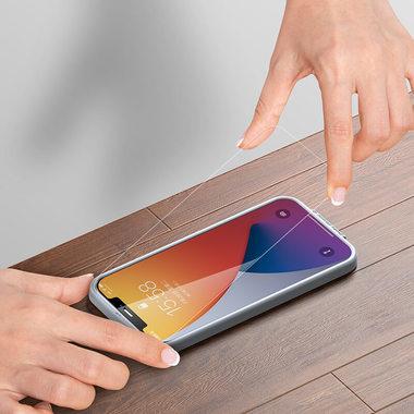 """Защитное стекло на iPhone 12 mini (5,4"""") KR - 0.15 мм.  2.5D скругление, фото №12"""
