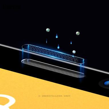 """Матовое защитное стекло 3D на iPhone 12 mini (5,4"""") Vpro 0,3 мм черная рамка, фото №2"""