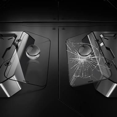 3D защитное стекло для iPhone 13 Pro Max XPro Corning 0,4 мм., фото №3