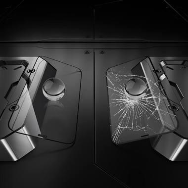 Benks King Kong Corning защитное стекло для iPhone 13/13 Pro - 0,4 мм 3D, фото №6