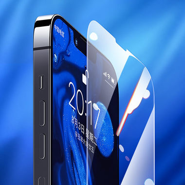 Защитное стекло на iPhone 13 Pro Max - 0.15 мм.  2.5D скругление, фото №6