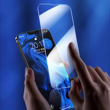 Защитное стекло на iPhone 13 Pro Max - 0.15 мм.  2.5D скругление, фото №1
