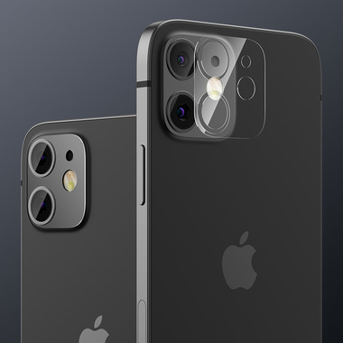 Защитная пленка на камеру для iPhone 12 - 2шт., фото №3