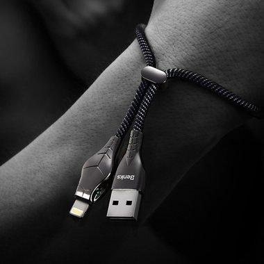 Lightning USB - Black Mamba - 0,25 м., фото №4