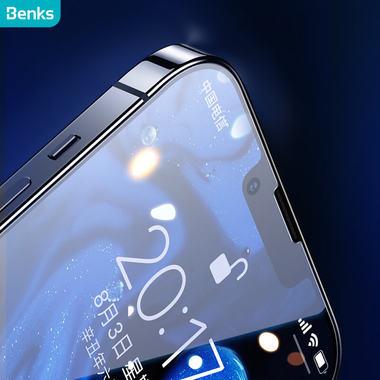 Защитное  стекло на iPhone 13/13Pro OKR - 0.3 мм.  2.5D скругление, фото №4