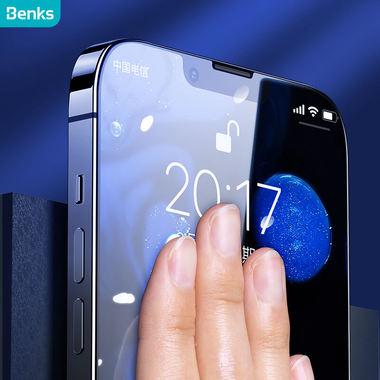 Защитное стекло на iPhone 13/13Pro OKR - 0.3 мм.  2.5D скругление