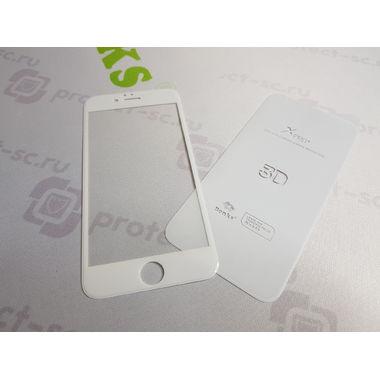 Benks Защитное стекло на iPhone 6/6S XPro 3D Белое, фото №6