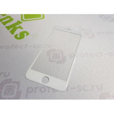 Benks Защитное стекло на iPhone 6/6S XPro 3D Белое, фото №5