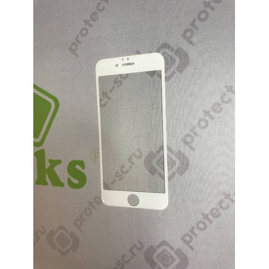 Benks Защитное стекло для iPhone 6 6S Anti Blueray Белое 3D, фото №5
