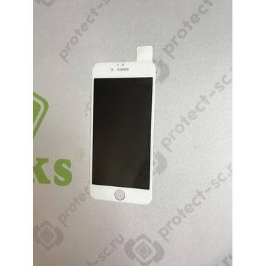 Benks приватное затемняющее стекло для iPhone 6 6S 3D Белое, фото №4