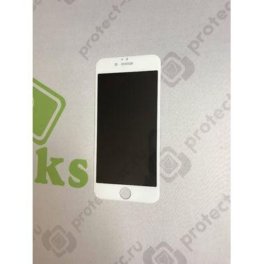 Benks приватное затемняющее стекло для iPhone 6 6S 3D Белое, фото №5