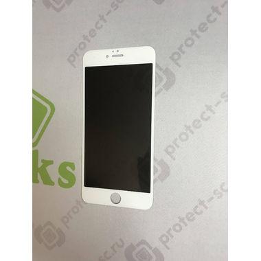 Benks Приватное затемняющее стекло для iPhone 6 Plus   6S Plus Белое 3D, фото №5