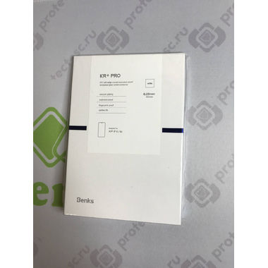 Benks Защитное стекло на iPhone 6/6S Белое 3D KR+Pro, фото №4