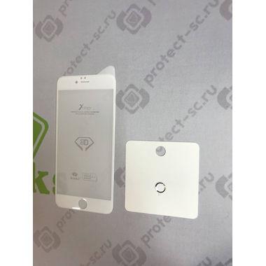 Benks Защитное стекло на iPhone 6 Plus/6S Plus белая рамка 3D King Kong, фото №9