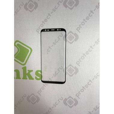 Benks Защитное стекло на Samsung Galaxy S8 - 3D Черное, фото №4