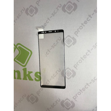 Защитное стекло на Samsung Galaxy Note 8 3D Черное, фото №4