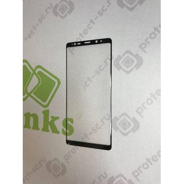 Защитное стекло на Samsung Galaxy Note 8 3D Черное, фото №5