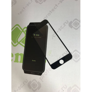 Benks Защитное стекло для iPhone SE 2020/7/8 Черное VPro, фото №27