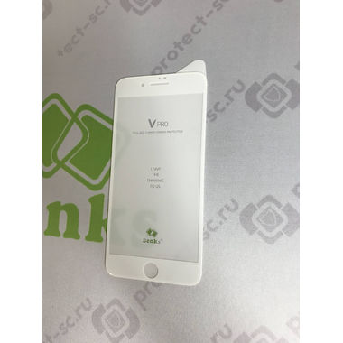 Benks Защитное стекло для iPhone 7P/8P Белое VPro, фото №4
