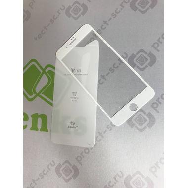 Benks Защитное стекло для iPhone 7P/8P Белое VPro, фото №5