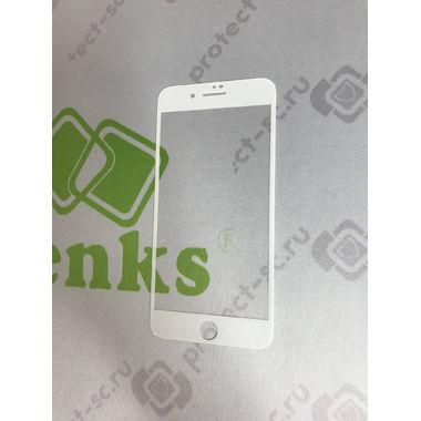 Benks Защитное стекло для iPhone 7P/8P Белое VPro, фото №6