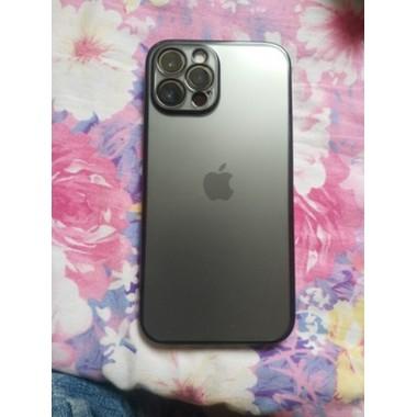 Защитное стекло на камеру для iPhone 12Pro Max с черным кантом - 1шт., фото №2, добавлено пользователем