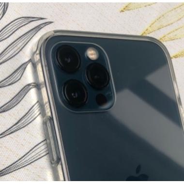 Защитное стекло на камеру для iPhone 12Pro Max с черным кантом - 1шт., фото №3, добавлено пользователем