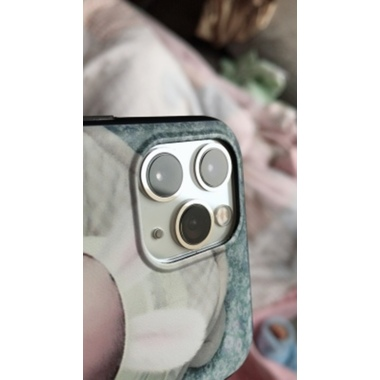 Защитное стекло на камеру iPhone 11 Pro/11 Pro Max, KR (White) - 2 шт., фото №2, добавлено пользователем