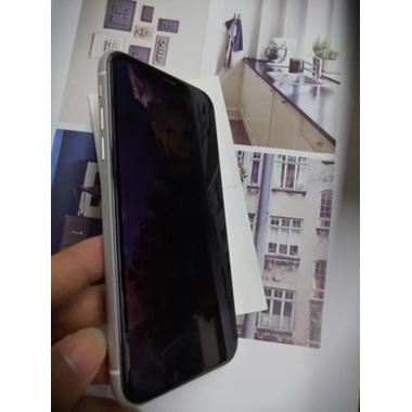 Защитное стекло антишпион для iPhone Xr/11 (Anti-Spy), фото №23, добавлено пользователем
