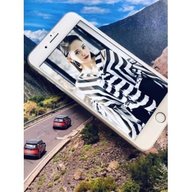 Benks 3D защитное стекло на iPhone 7 Plus - белое King Kong, фото №3, добавлено пользователем